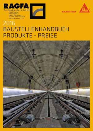 2016 BAUSTELLENHANDBUCH PRODUKTE - PREISE